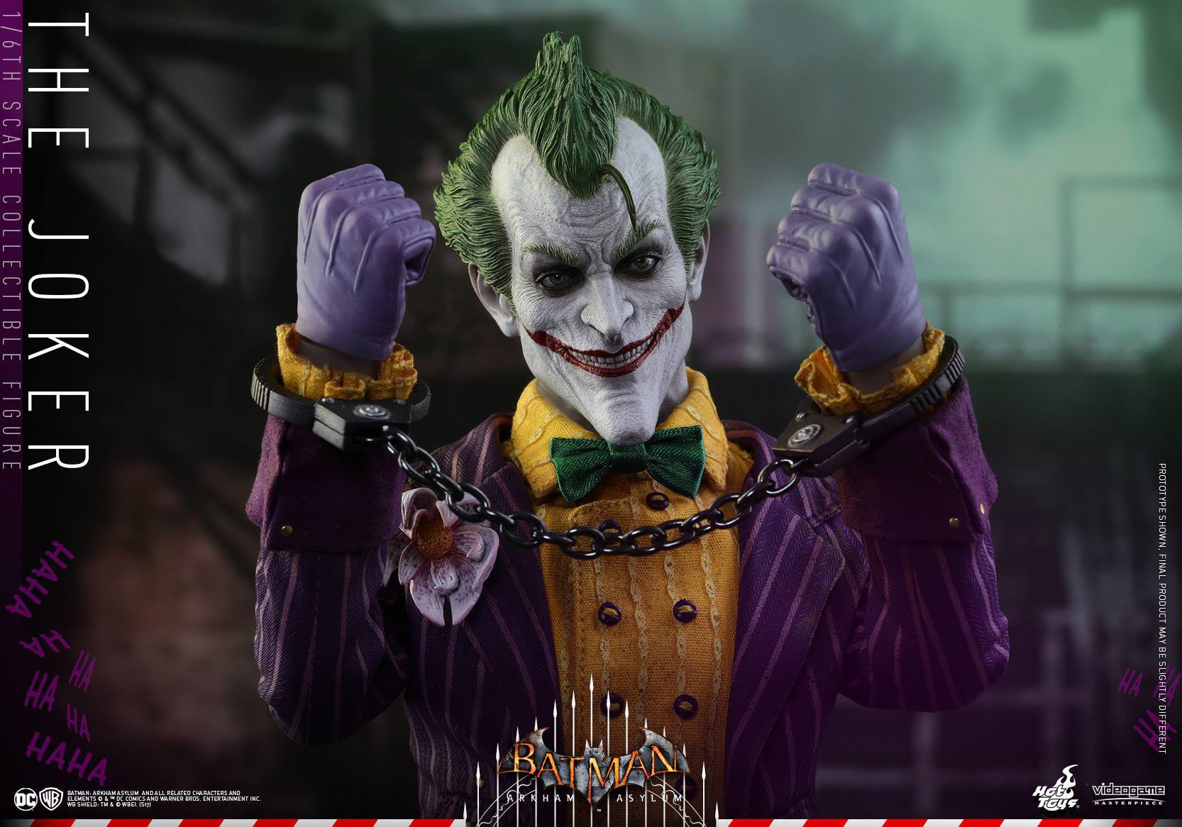 Hot Toys - VGM27 - Batman: Arkham Asylum - The Joker - Marvelous Toys - 8