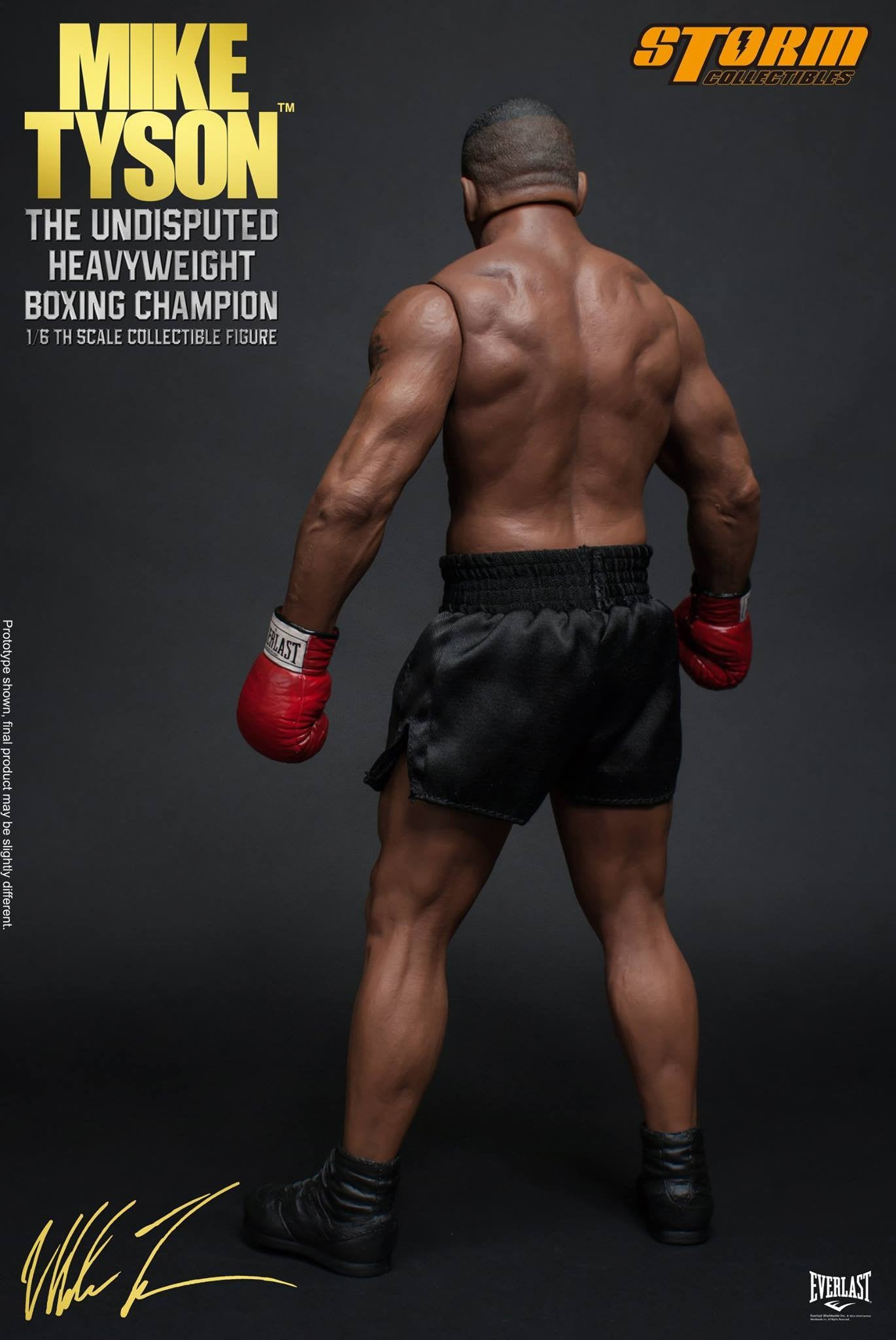 "Storm Collectibles - 1:6 Scale Collectible Figure - Mike Tyson ""The Undisputed Heavyweight Boxing Champion"" - Marvelous Toys - 10"