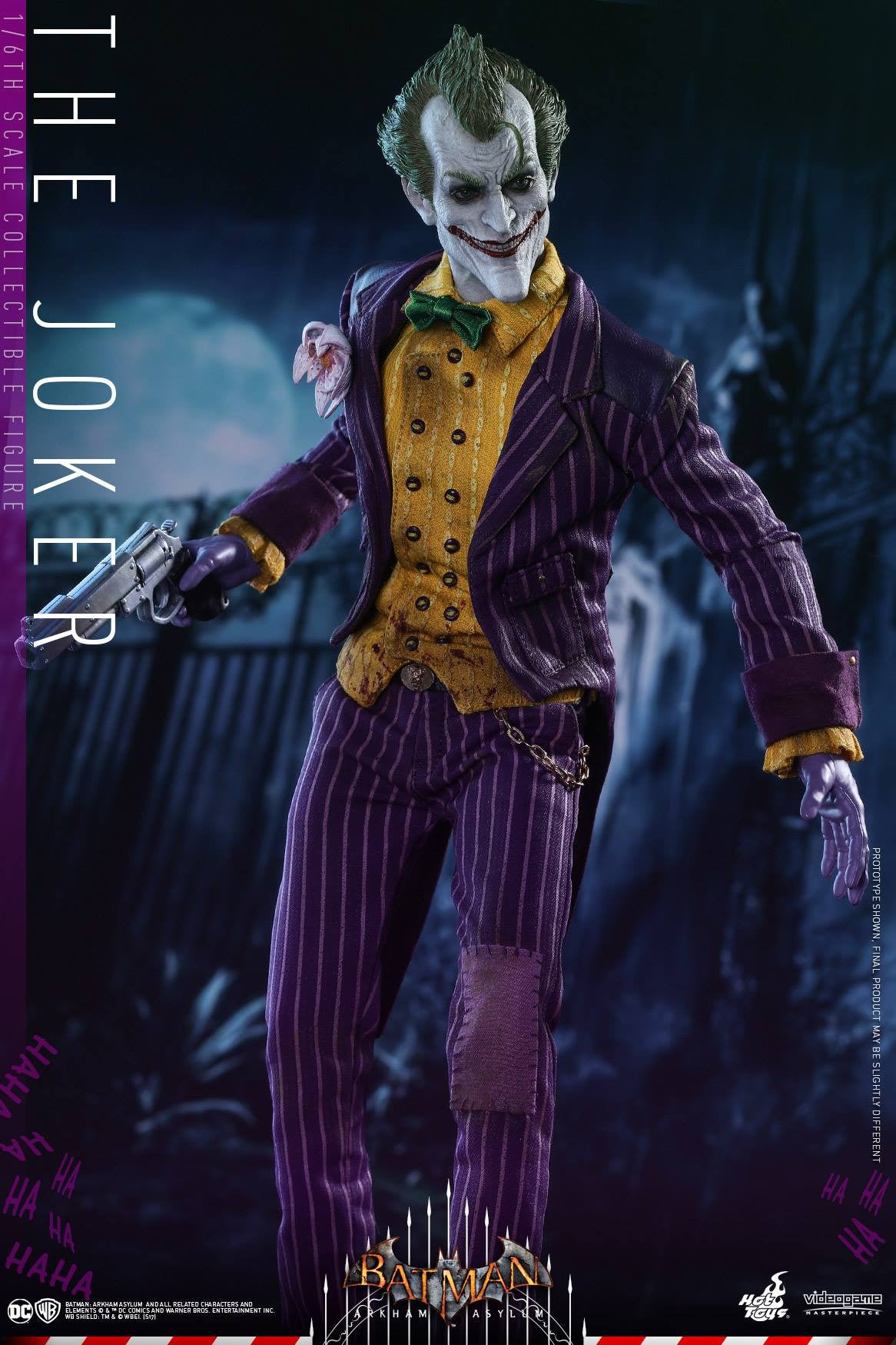 Hot Toys - VGM27 - Batman: Arkham Asylum - The Joker - Marvelous Toys - 11