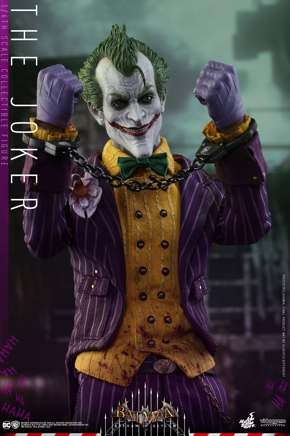 Hot Toys - VGM27 - Batman: Arkham Asylum - The Joker - Marvelous Toys - 13