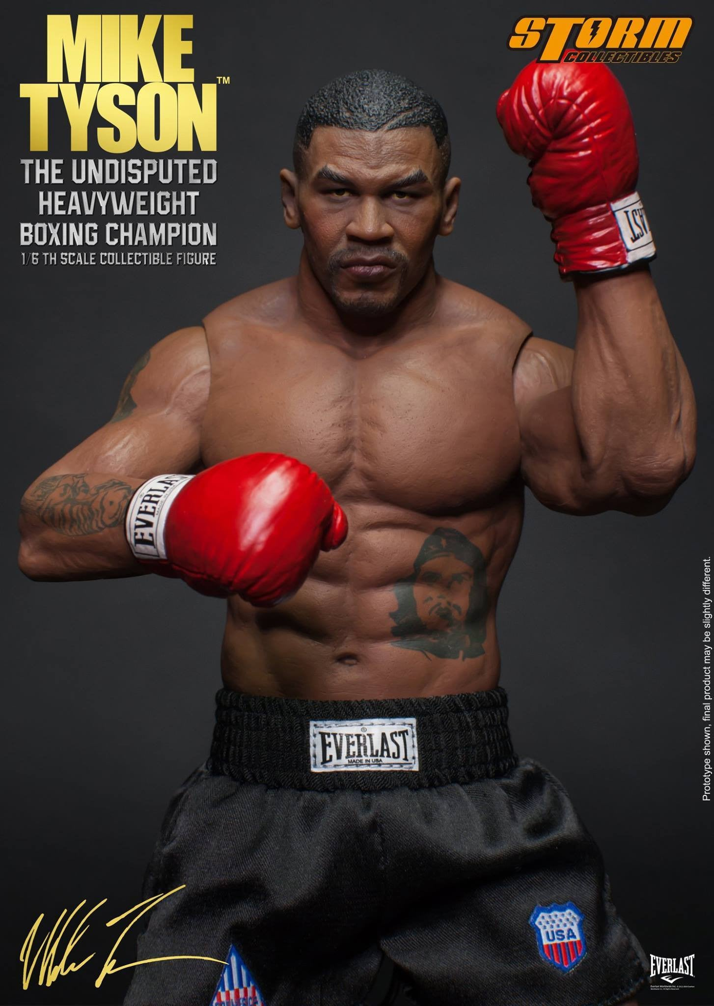 "Storm Collectibles - 1:6 Scale Collectible Figure - Mike Tyson ""The Undisputed Heavyweight Boxing Champion"" - Marvelous Toys - 19"