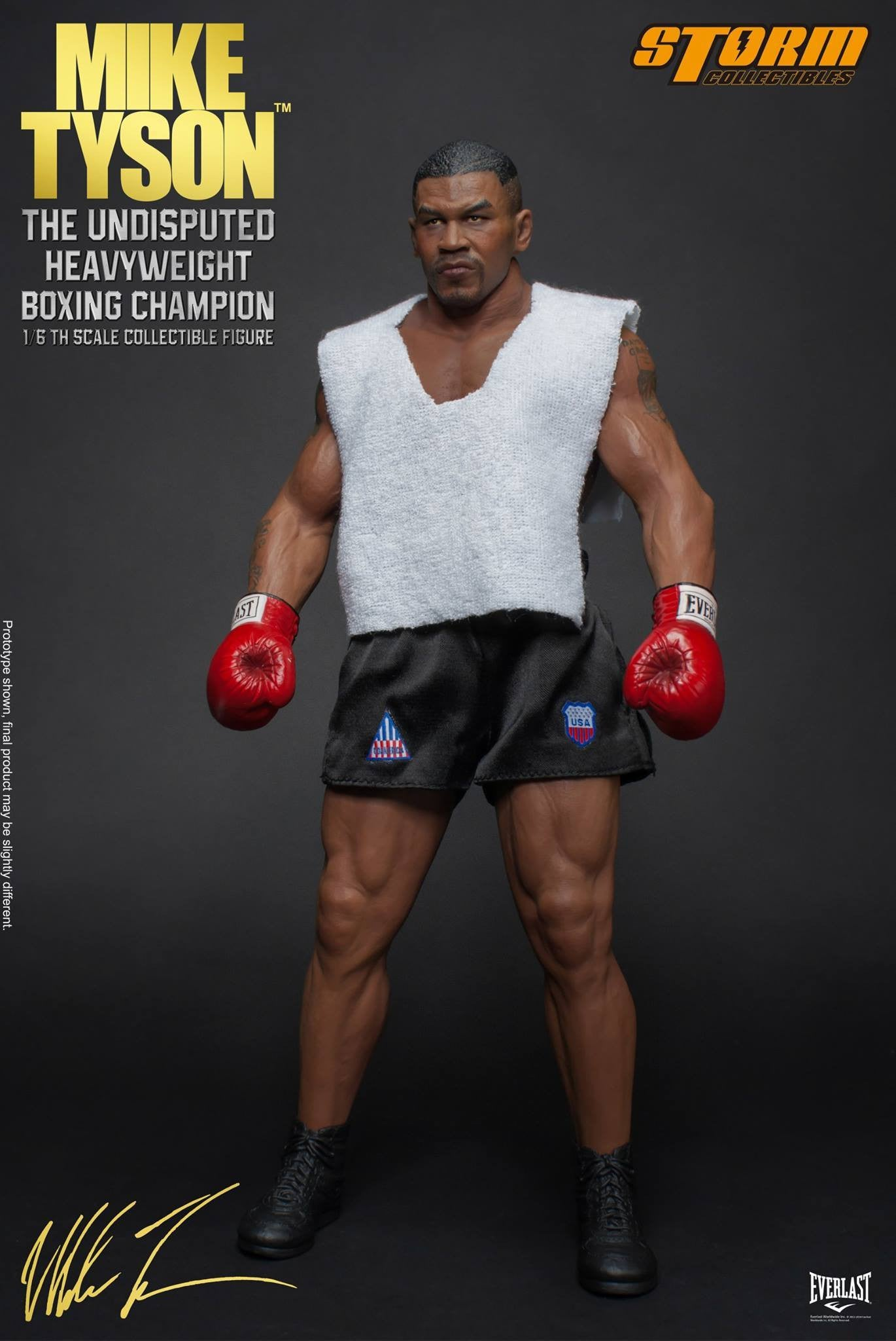 "Storm Collectibles - 1:6 Scale Collectible Figure - Mike Tyson ""The Undisputed Heavyweight Boxing Champion"""