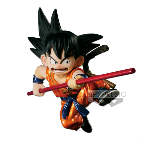 Banpresto - Prize Item 35363 - Dragonball Sculptures - Son Goku Metallic Color Ver. - Marvelous Toys - 1