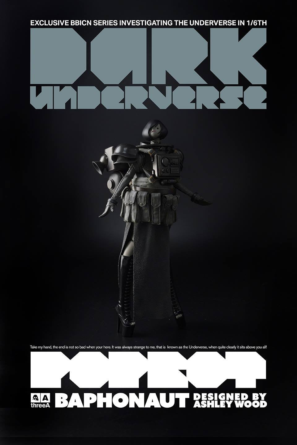 ThreeA - Popbot - Dark Underverse - Baphonaut (BBICN Exclusive) - Marvelous Toys - 1