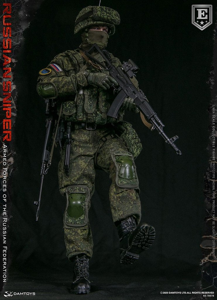 DamToys - Elite Series 78078 - Armed Forces of the Russian Federation - Sniper