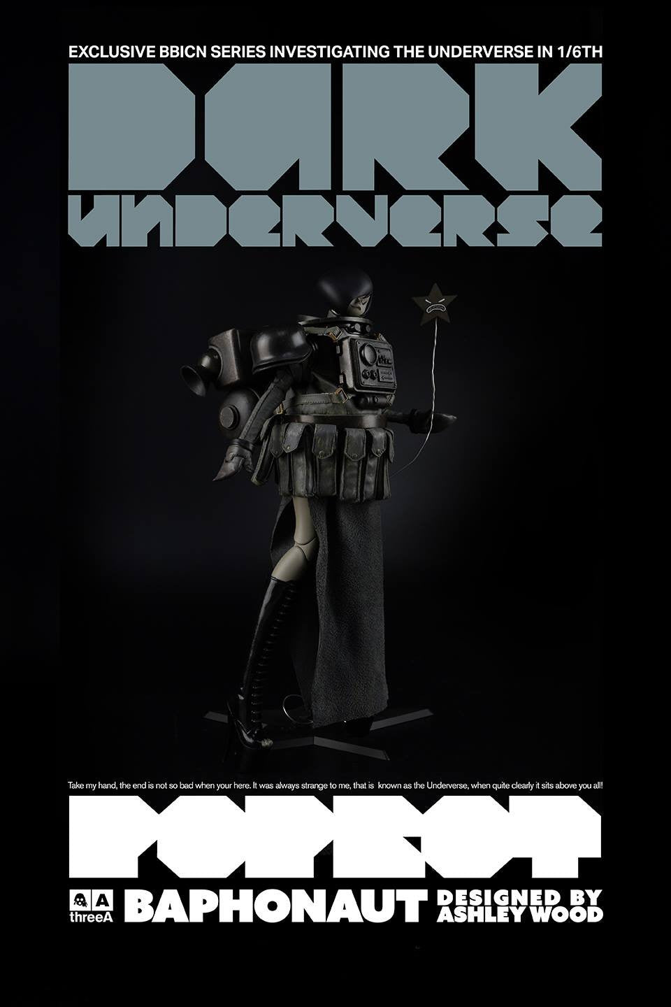 ThreeA - Popbot - Dark Underverse - Baphonaut (BBICN Exclusive) - Marvelous Toys - 2