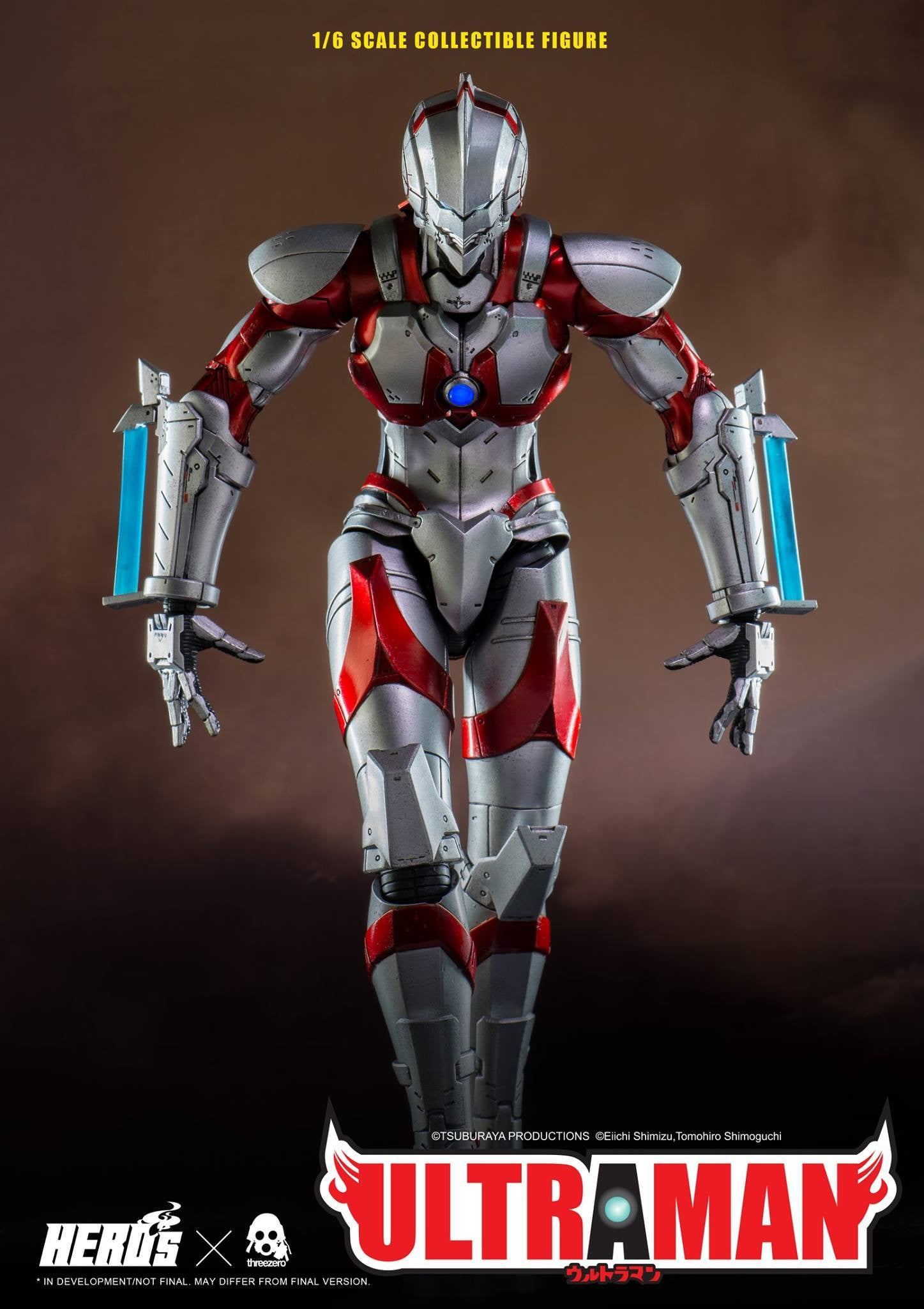 ThreeZero - Ultraman Suit - Marvelous Toys - 4