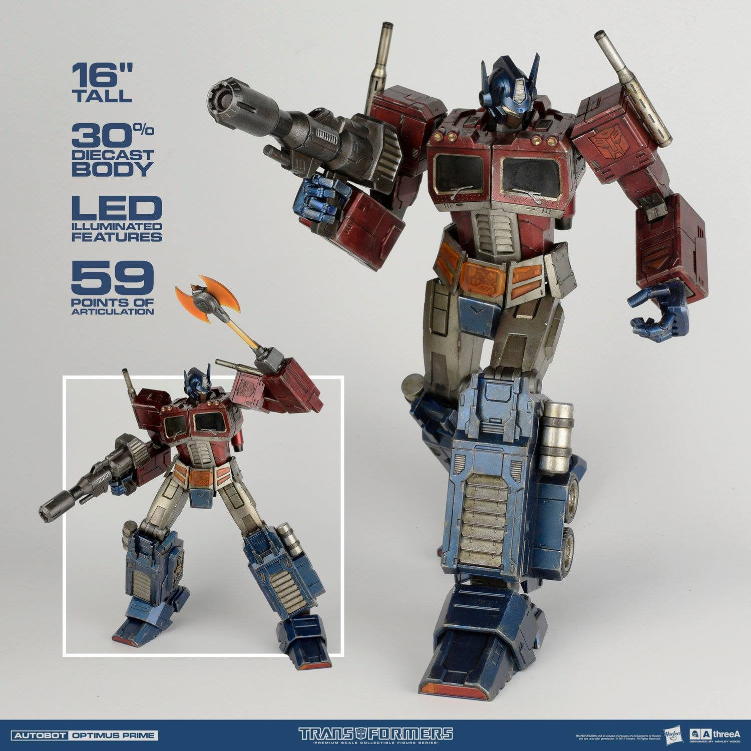 ThreeA - Transformers - Optimus Prime (Classic Edition Premium Scale) - Marvelous Toys - 3