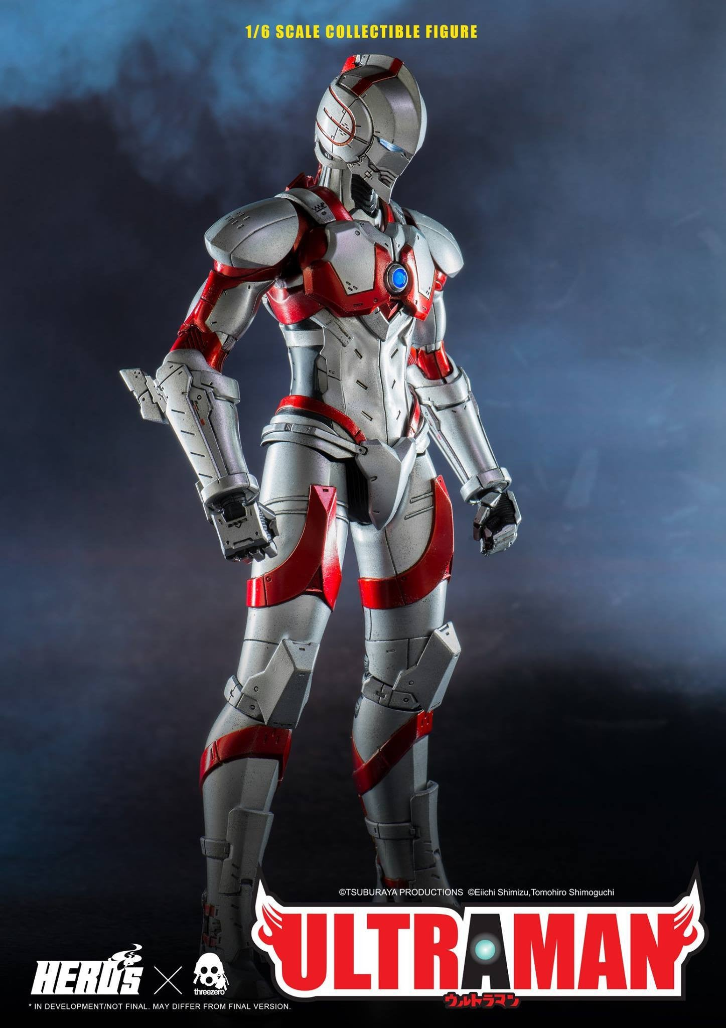 ThreeZero - Ultraman Suit - Marvelous Toys - 8