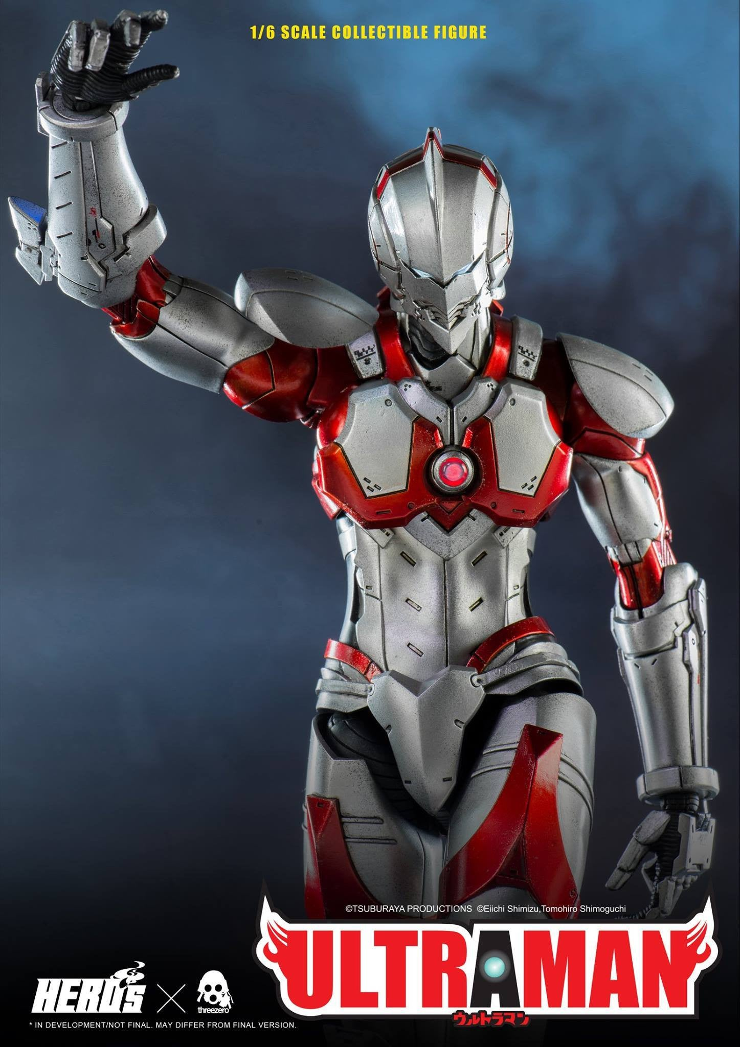 ThreeZero - Ultraman Suit - Marvelous Toys - 9