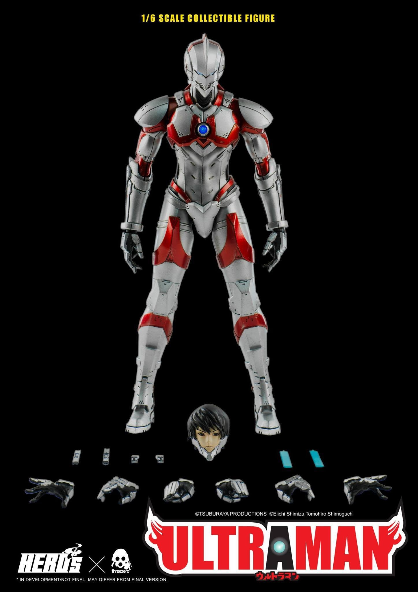 ThreeZero - Ultraman Suit - Marvelous Toys - 10