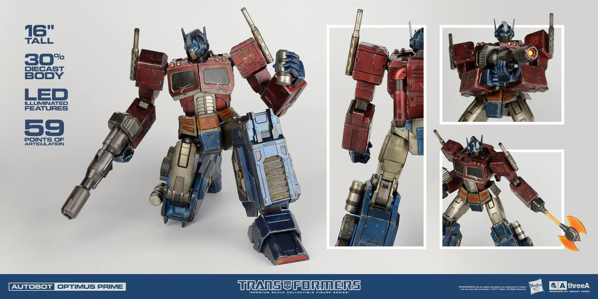 ThreeA - Transformers - Optimus Prime (Classic Edition Premium Scale) - Marvelous Toys - 6
