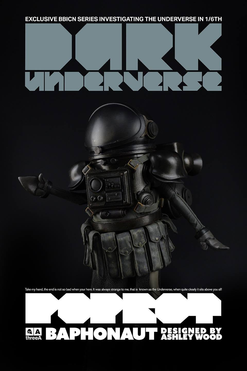 ThreeA - Popbot - Dark Underverse - Baphonaut (BBICN Exclusive) - Marvelous Toys - 3