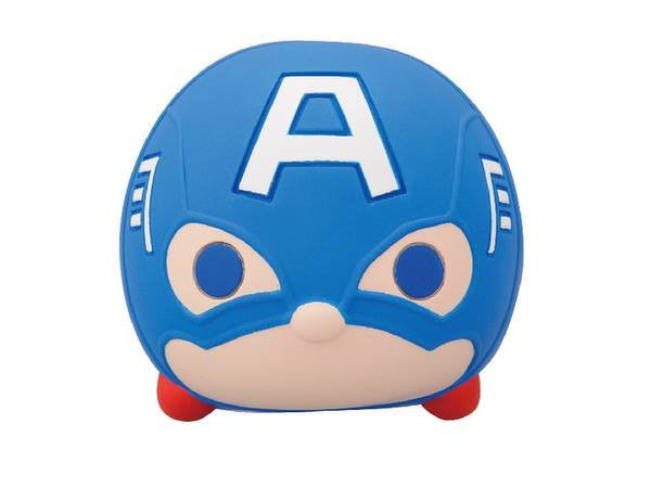 Ensky - Marvel Tsum Tsum - Sofubi Coin Bank  - Captain America - Marvelous Toys - 2