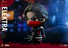 Hot Toys - COSB351 - Marvel's Daredevil - Daredevil, Punisher, and Elektra Cosbaby Bobble-Head (Collectible Set of 3) - Marvelous Toys - 11