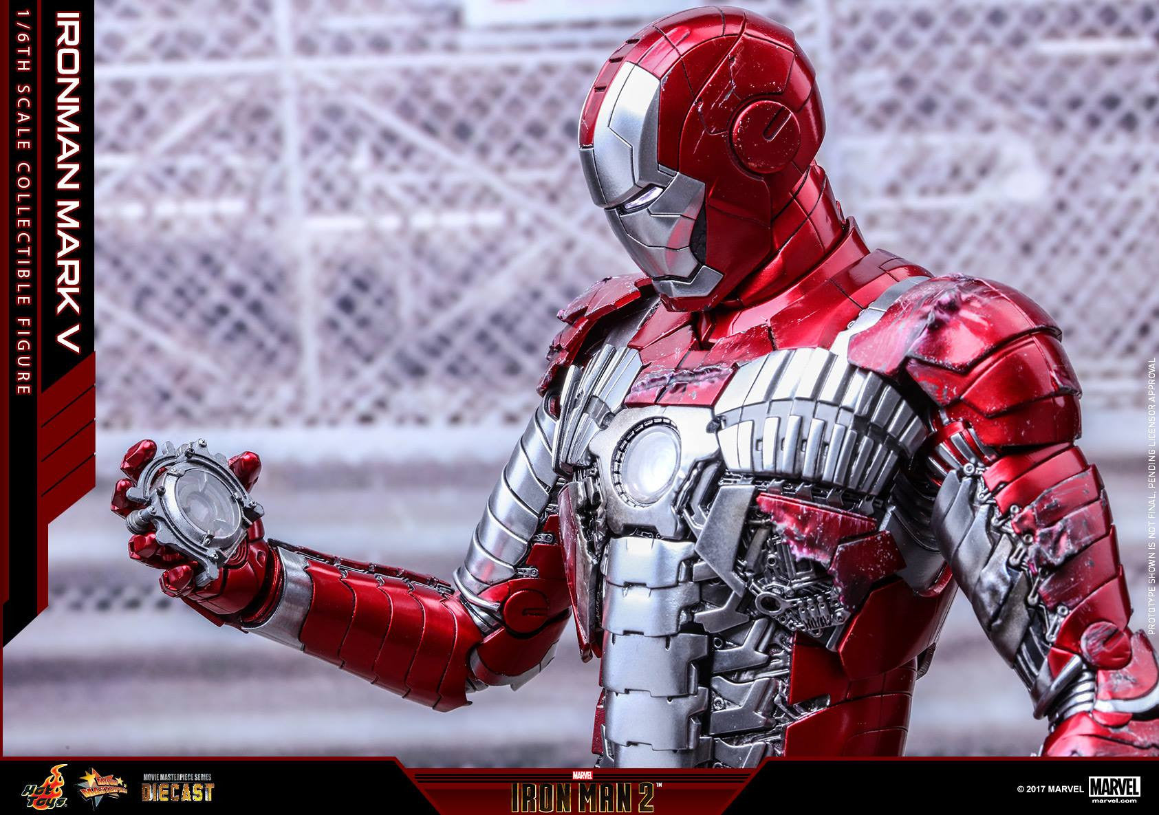 Hot Toys - MMS400D18 - Iron Man 2 - Mark V (DIECAST) - Marvelous Toys - 5