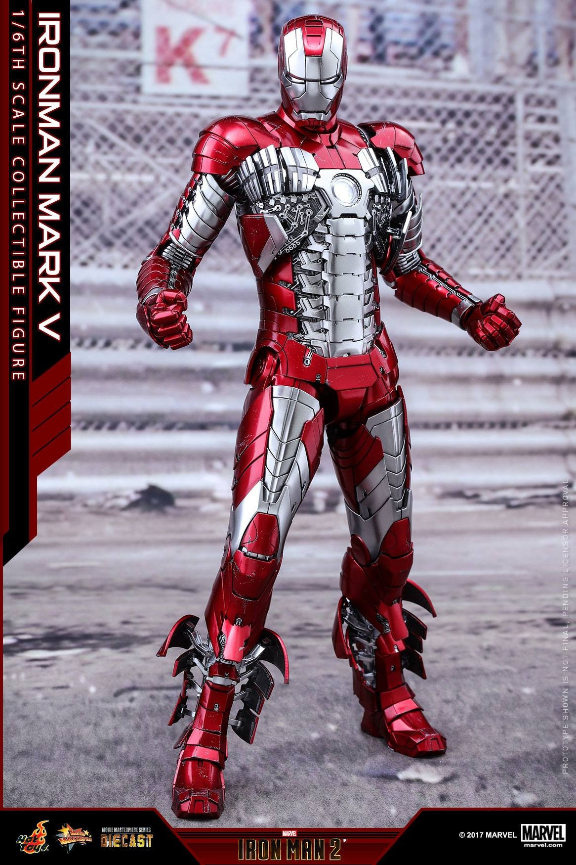 Hot Toys - MMS400D18 - Iron Man 2 - Mark V (DIECAST) - Marvelous Toys - 6