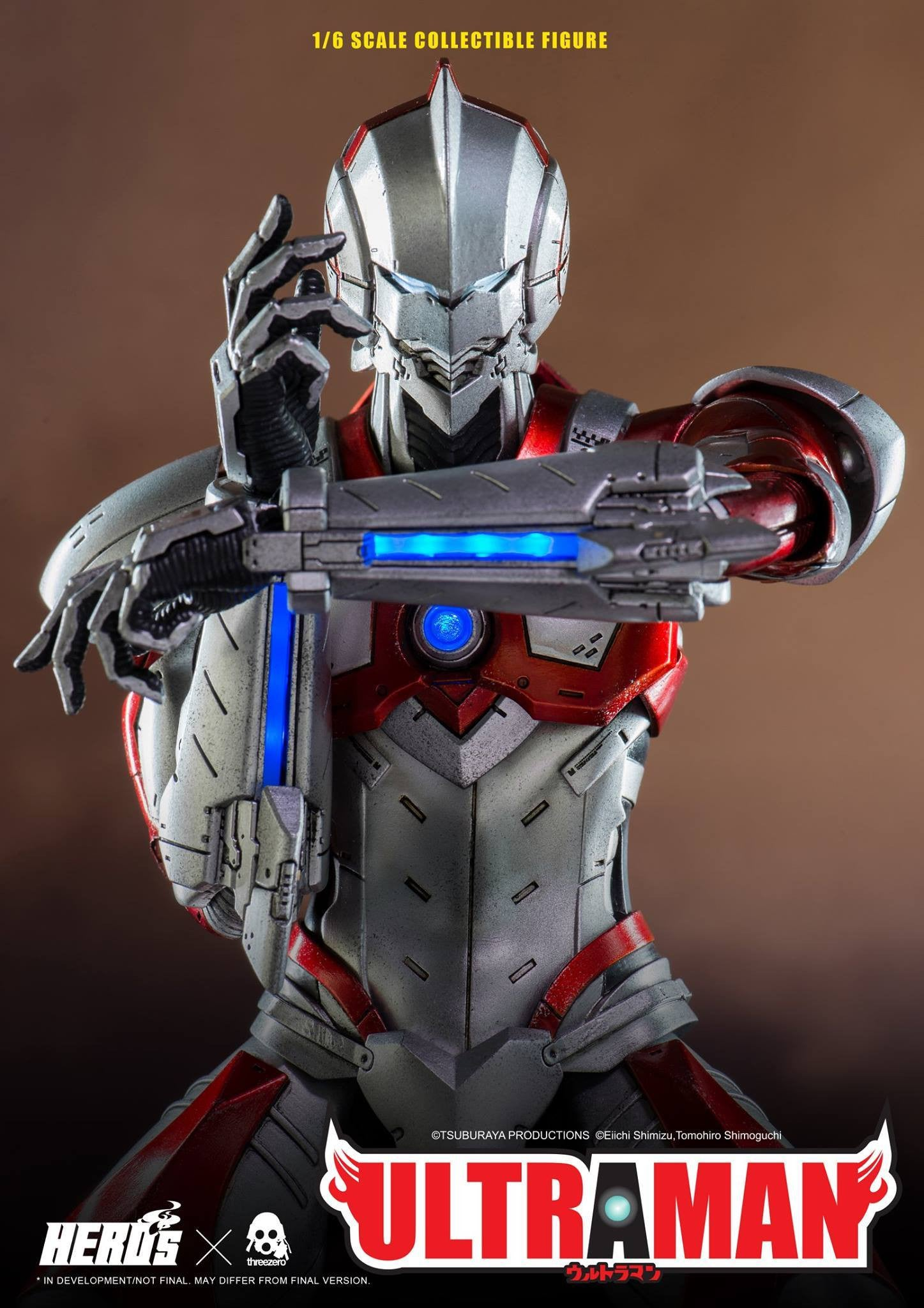 ThreeZero - Ultraman Suit - Marvelous Toys - 1