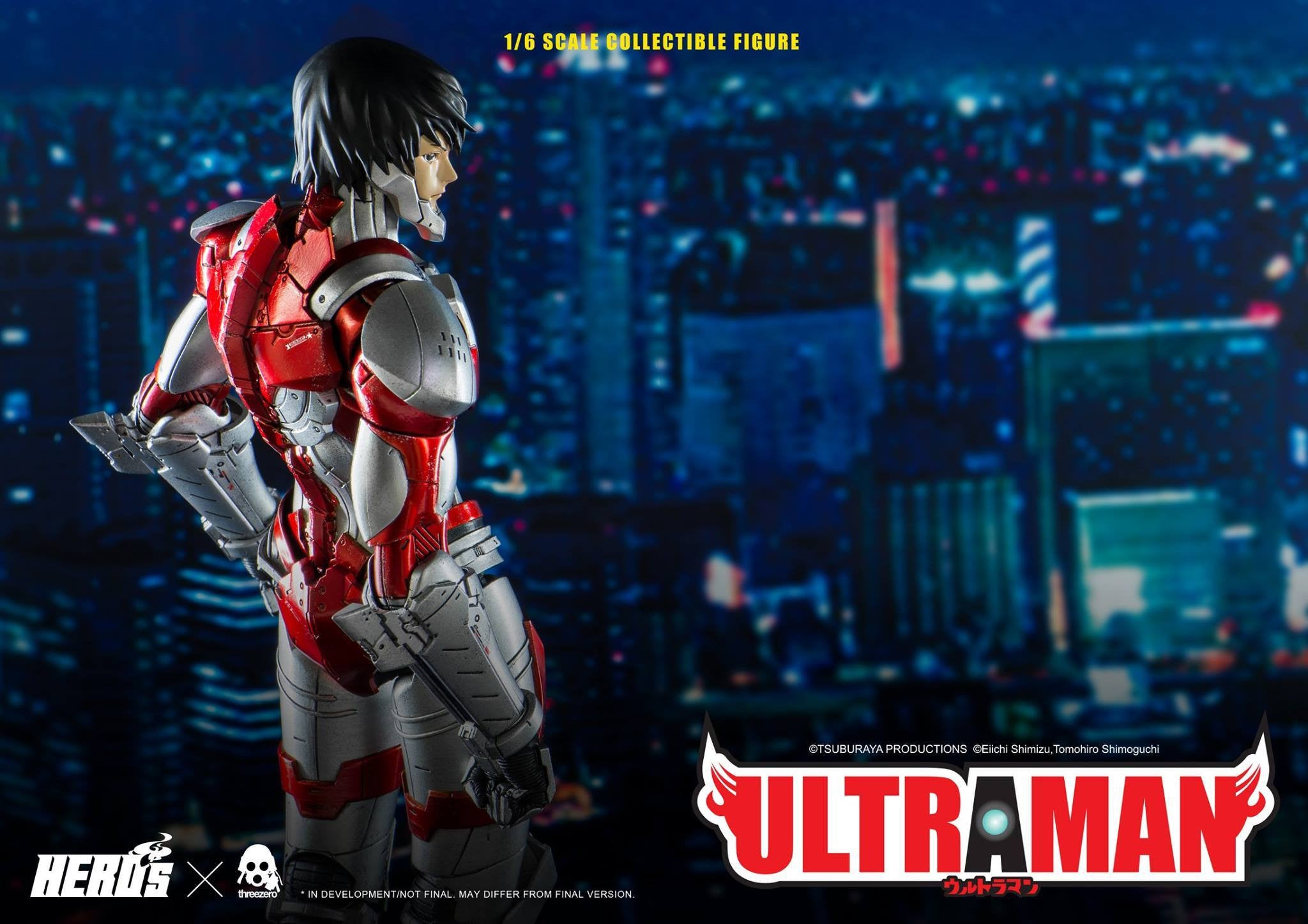 ThreeZero - Ultraman Suit - Marvelous Toys - 14