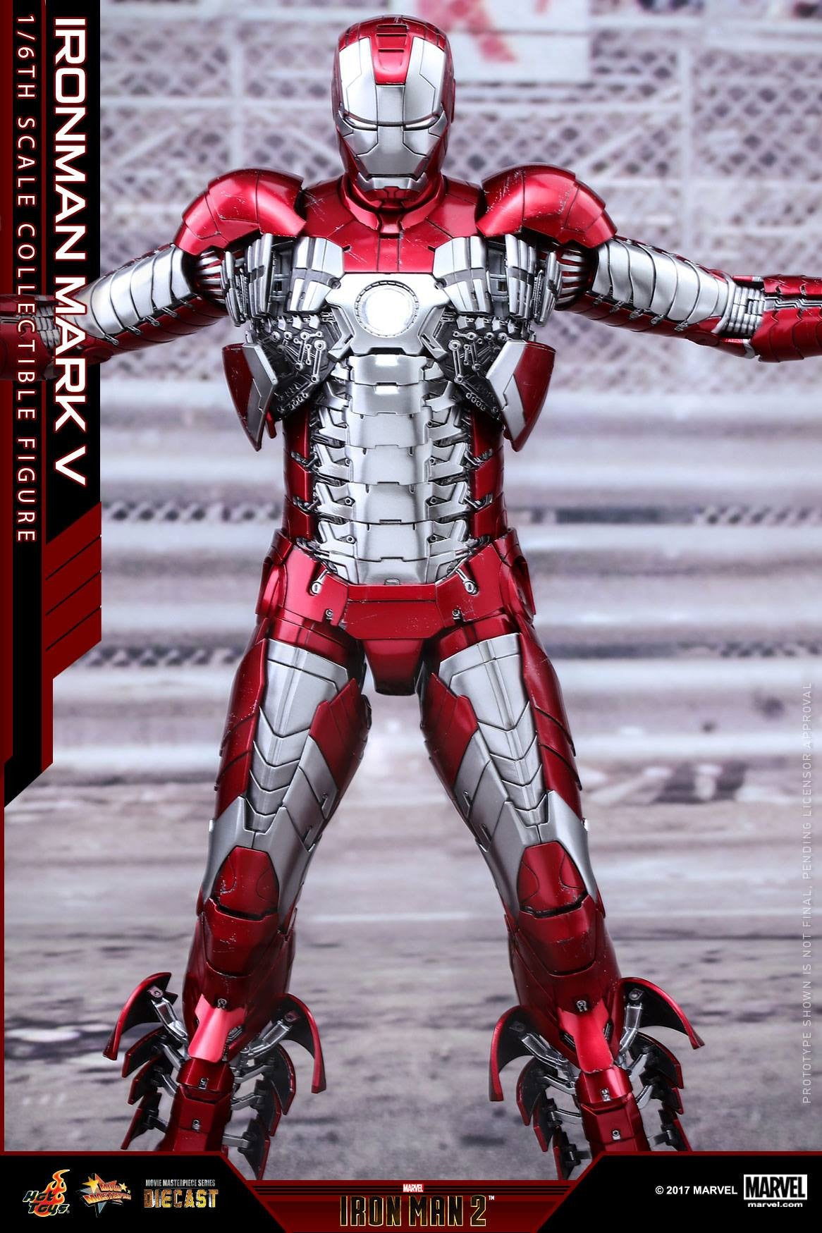 Hot Toys - MMS400D18 - Iron Man 2 - Mark V (DIECAST) - Marvelous Toys - 7