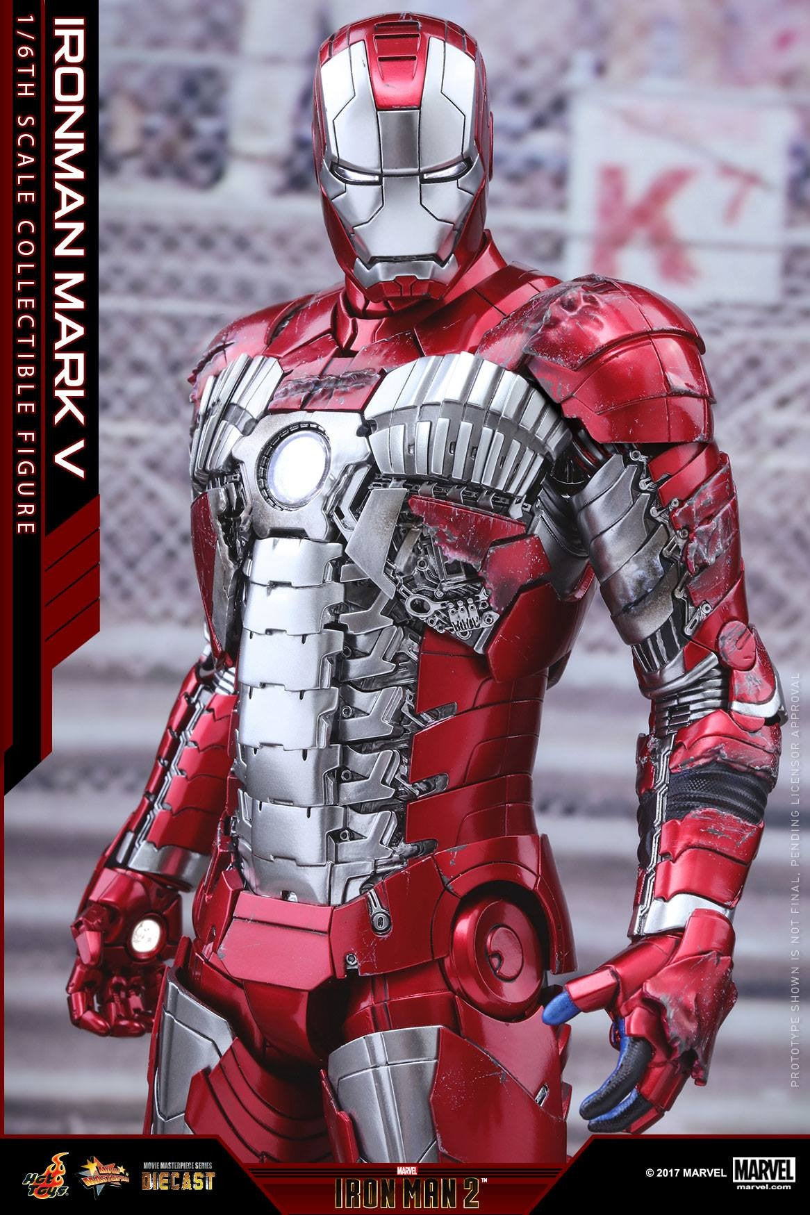 Hot Toys - MMS400D18 - Iron Man 2 - Mark V (DIECAST) - Marvelous Toys - 8