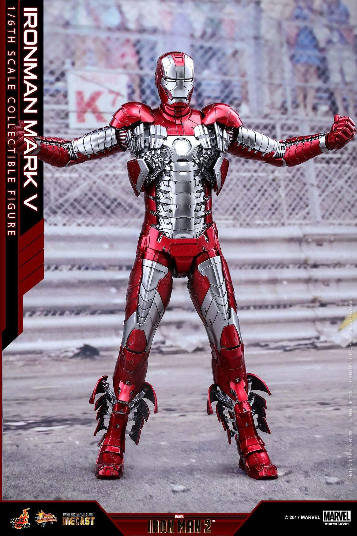 Hot Toys - MMS400D18 - Iron Man 2 - Mark V (DIECAST) - Marvelous Toys - 9