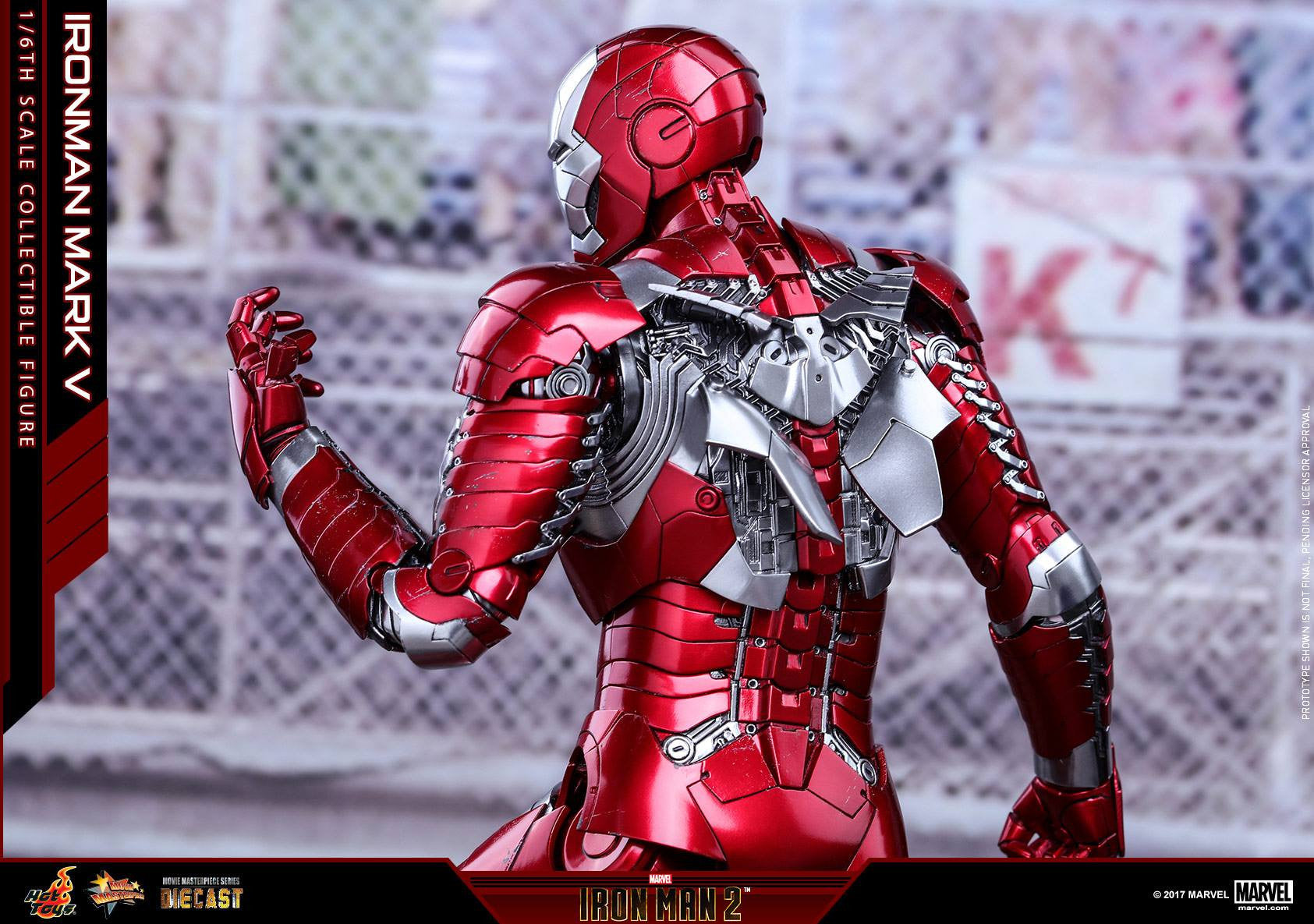 Hot Toys - MMS400D18 - Iron Man 2 - Mark V (DIECAST) - Marvelous Toys - 10