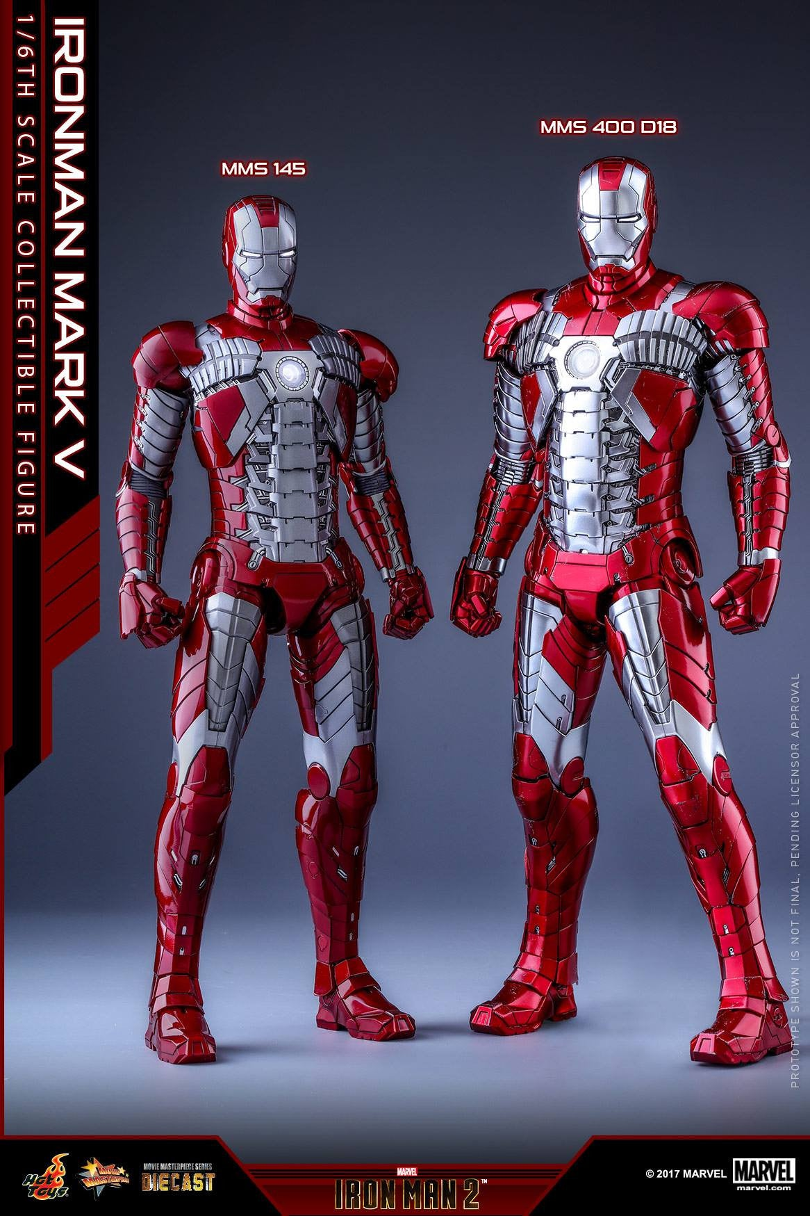 Hot Toys - MMS400D18 - Iron Man 2 - Mark V (DIECAST) - Marvelous Toys - 23