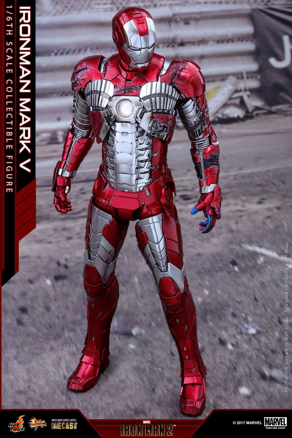Hot Toys - MMS400D18 - Iron Man 2 - Mark V (DIECAST) - Marvelous Toys - 11