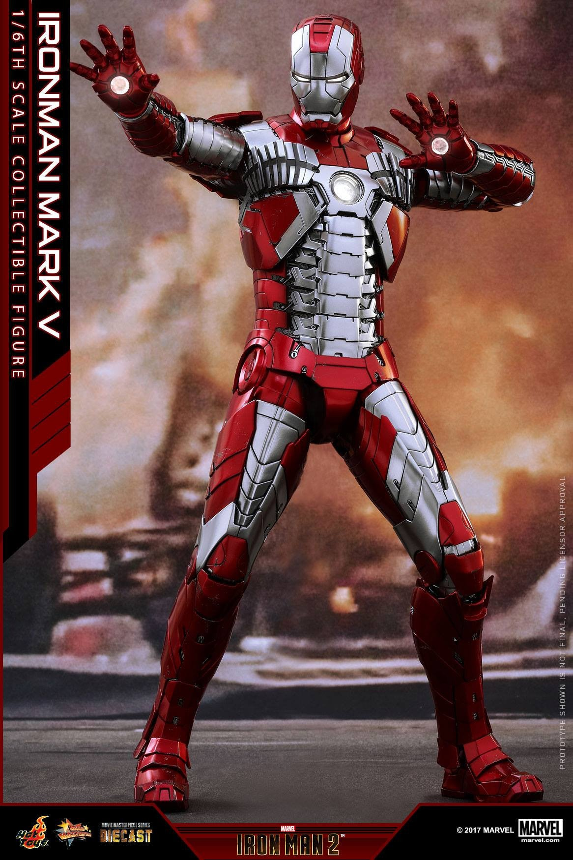 Hot Toys - MMS400D18 - Iron Man 2 - Mark V (DIECAST) - Marvelous Toys - 2