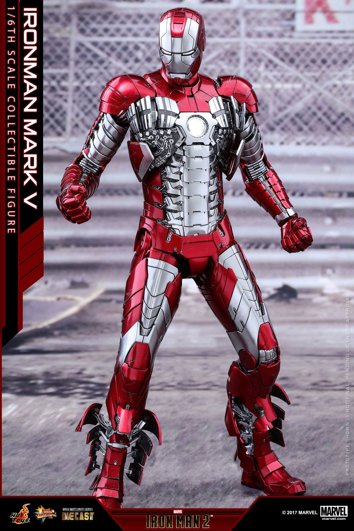 Hot Toys - MMS400D18 - Iron Man 2 - Mark V (DIECAST) - Marvelous Toys - 12