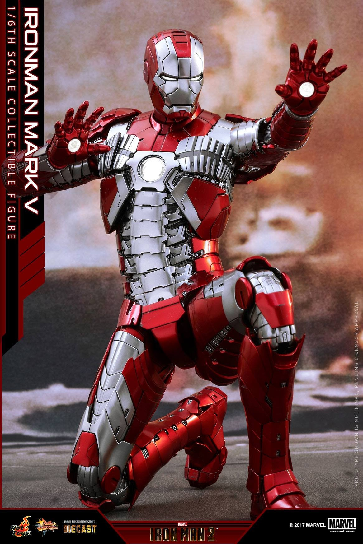 Hot Toys - MMS400D18 - Iron Man 2 - Mark V (DIECAST) - Marvelous Toys - 1