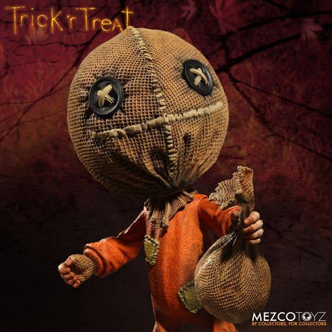 "Mezco - 6"" Vinyl Figure - Trick 'r Treat - Stylized Sam - Marvelous Toys - 2"