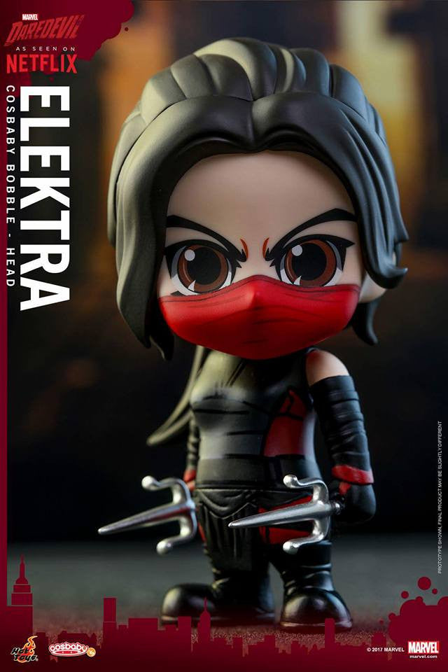 Hot Toys - COSB350 - Marvel's Daredevil - Elektra Cosbaby Bobble-Head - Marvelous Toys - 1