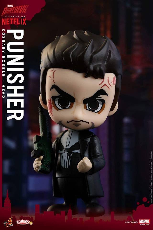 Hot Toys - COSB349 - Marvel's Daredevil - Punisher Cosbaby Bobble-Head - Marvelous Toys - 1