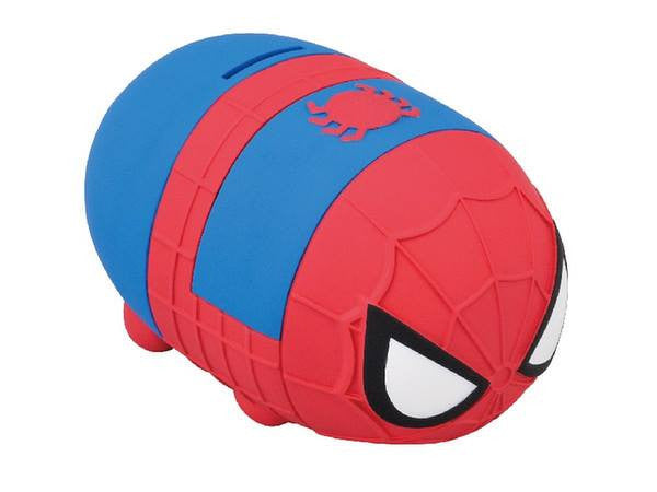 Ensky - Marvel Tsum Tsum - Sofubi Coin Bank  - Spider-Man - Marvelous Toys - 3