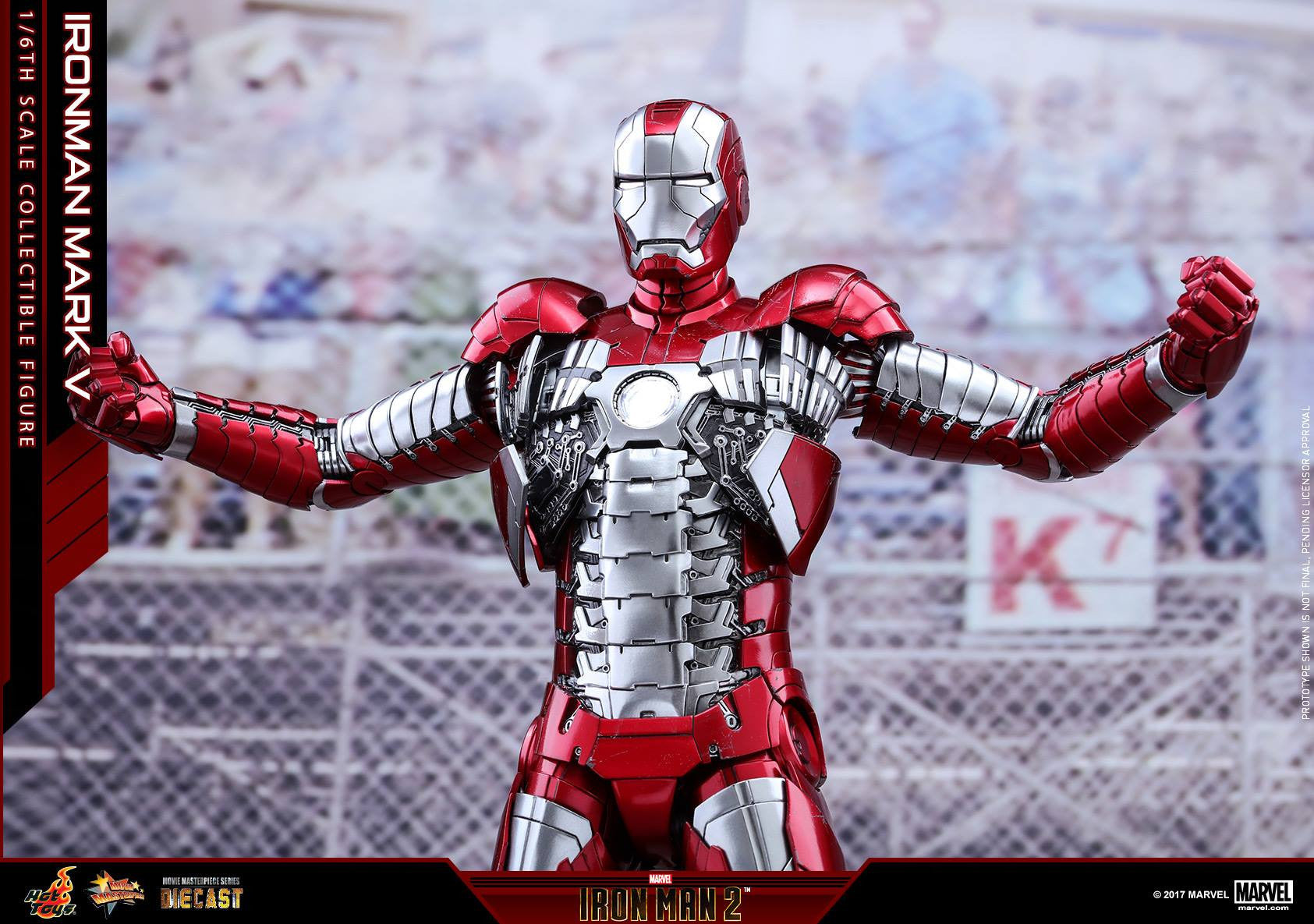 Hot Toys - MMS400D18 - Iron Man 2 - Mark V (DIECAST) - Marvelous Toys - 13