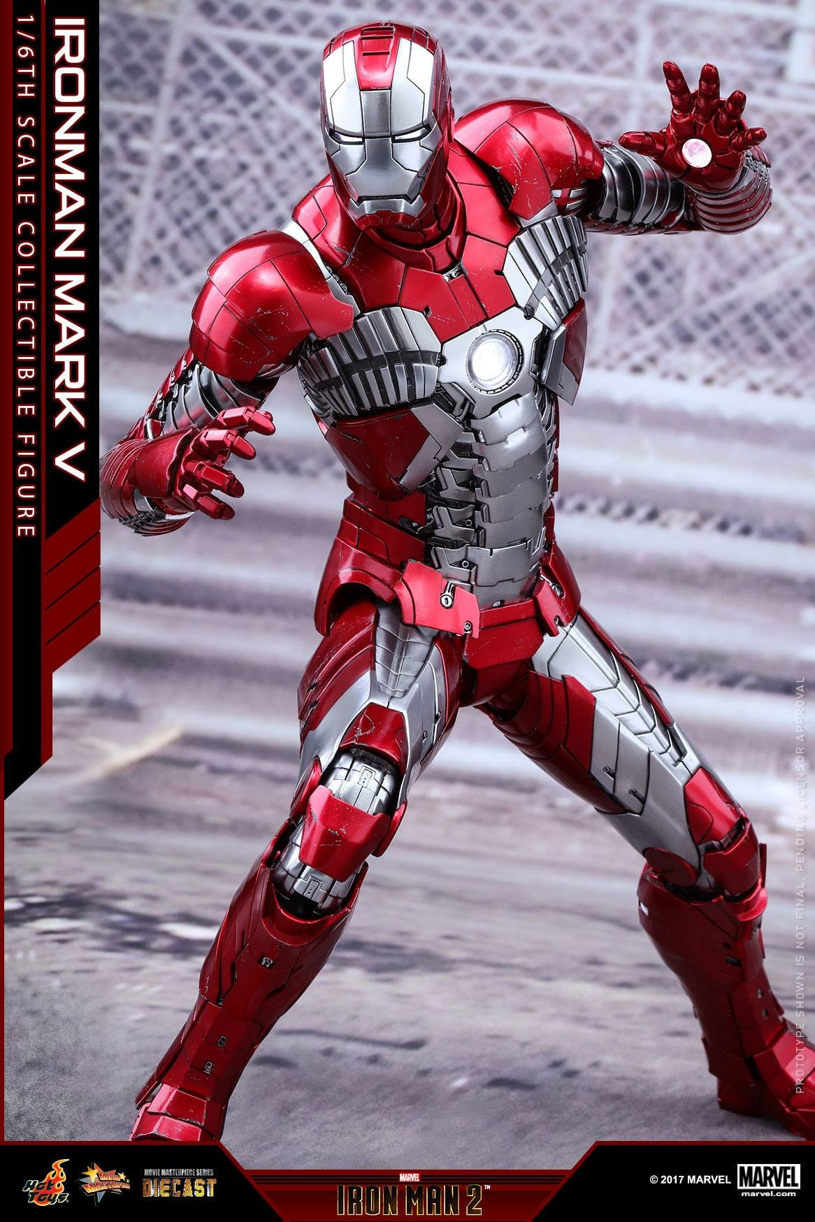 Hot Toys - MMS400D18 - Iron Man 2 - Mark V (DIECAST) - Marvelous Toys - 14