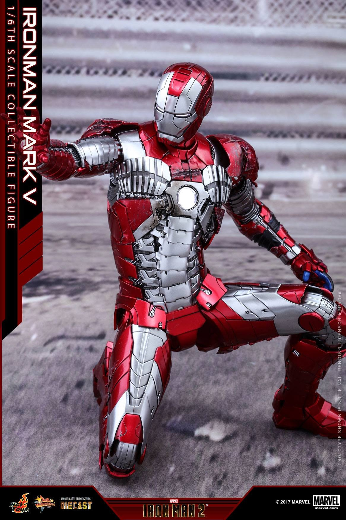 Hot Toys - MMS400D18 - Iron Man 2 - Mark V (DIECAST) - Marvelous Toys - 15
