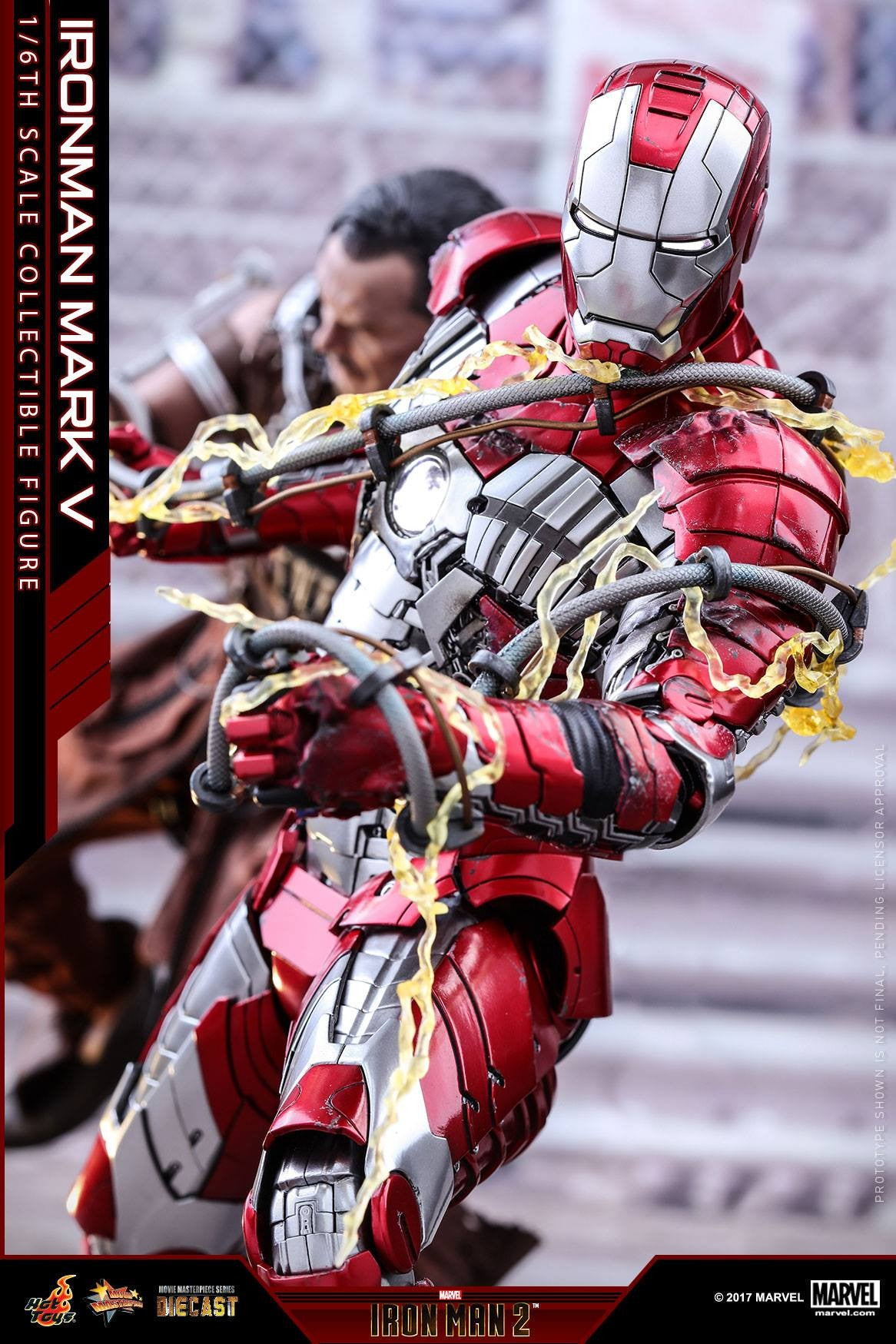 Hot Toys - MMS400D18 - Iron Man 2 - Mark V (DIECAST) - Marvelous Toys - 4