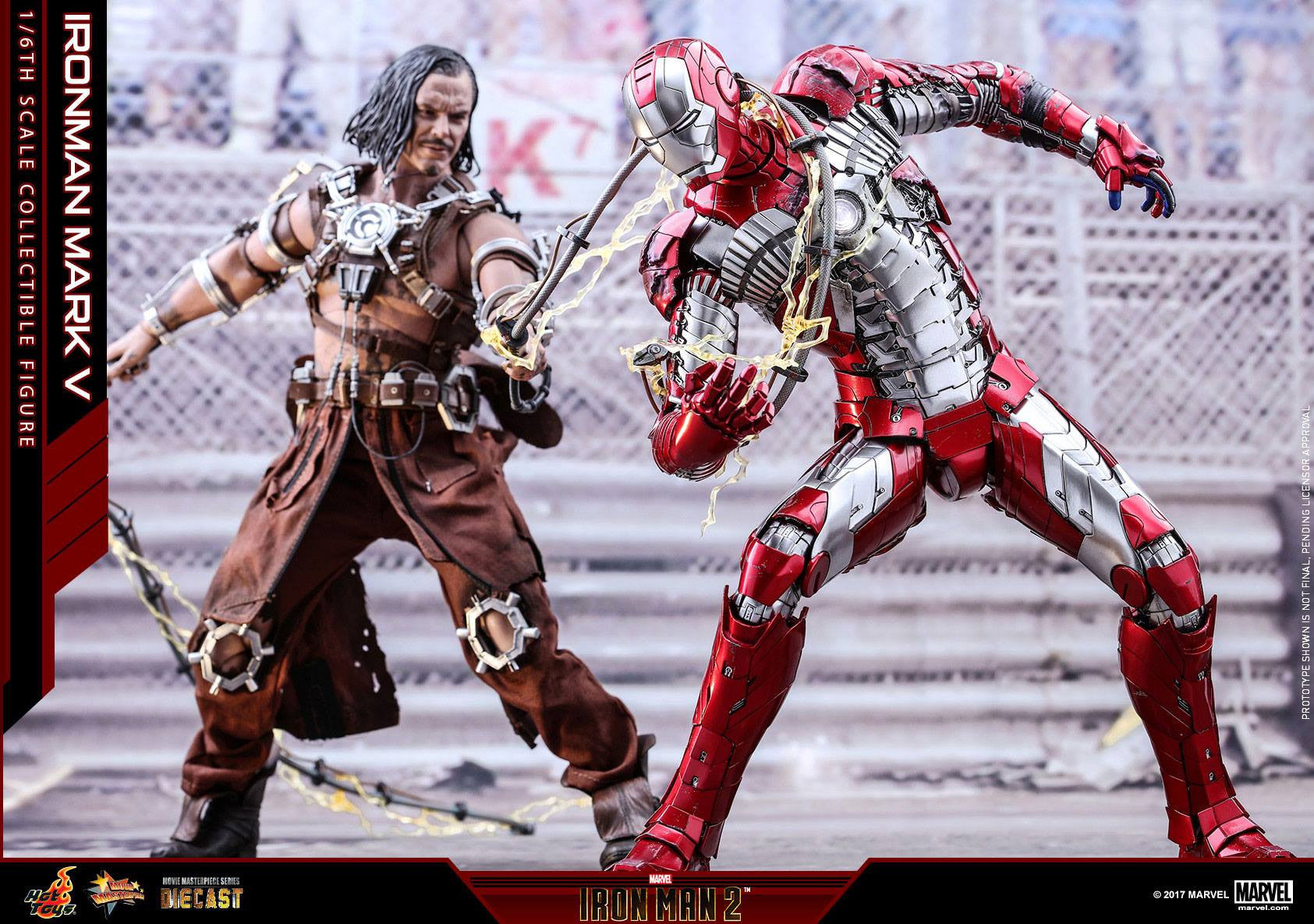 Hot Toys - MMS400D18 - Iron Man 2 - Mark V (DIECAST) - Marvelous Toys - 3