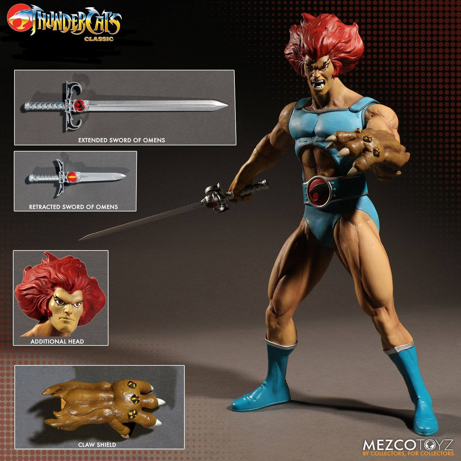Mezco - Mega Scale - Thundercats - Lion-O Deluxe Edition - Marvelous Toys - 6