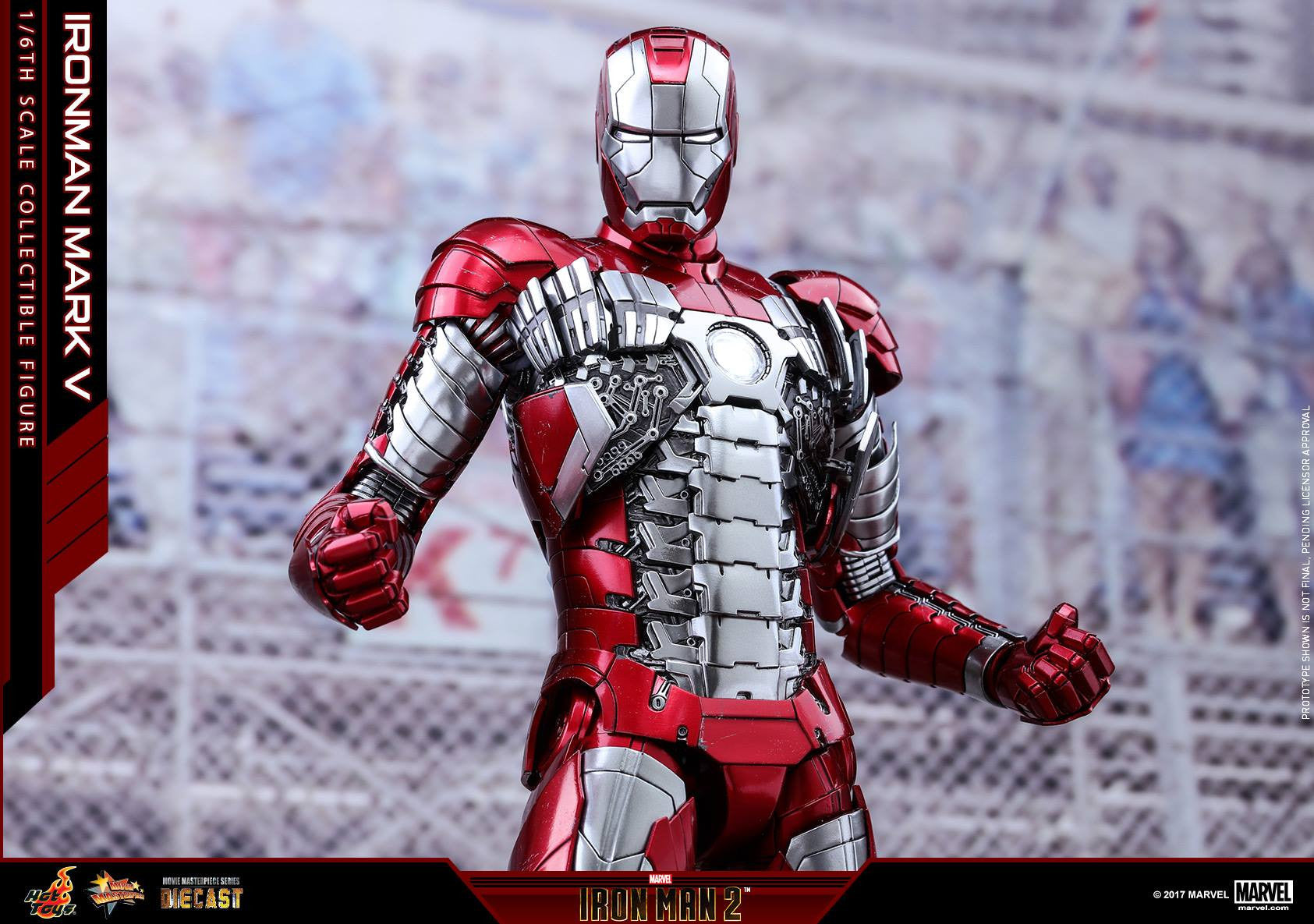Hot Toys - MMS400D18 - Iron Man 2 - Mark V (DIECAST) - Marvelous Toys - 16