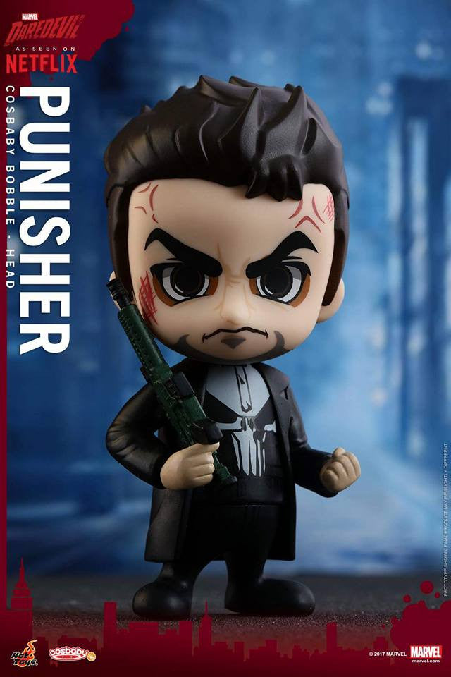 Hot Toys - COSB349 - Marvel's Daredevil - Punisher Cosbaby Bobble-Head - Marvelous Toys - 2