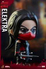 Hot Toys - COSB351 - Marvel's Daredevil - Daredevil, Punisher, and Elektra Cosbaby Bobble-Head (Collectible Set of 3) - Marvelous Toys - 10