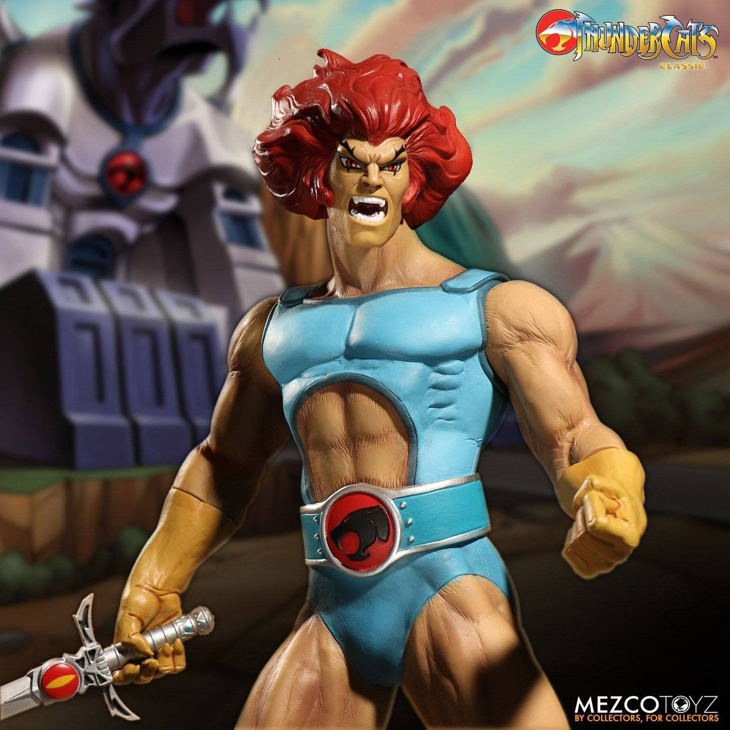 Mezco - Mega Scale - Thundercats - Lion-O Deluxe Edition - Marvelous Toys - 3