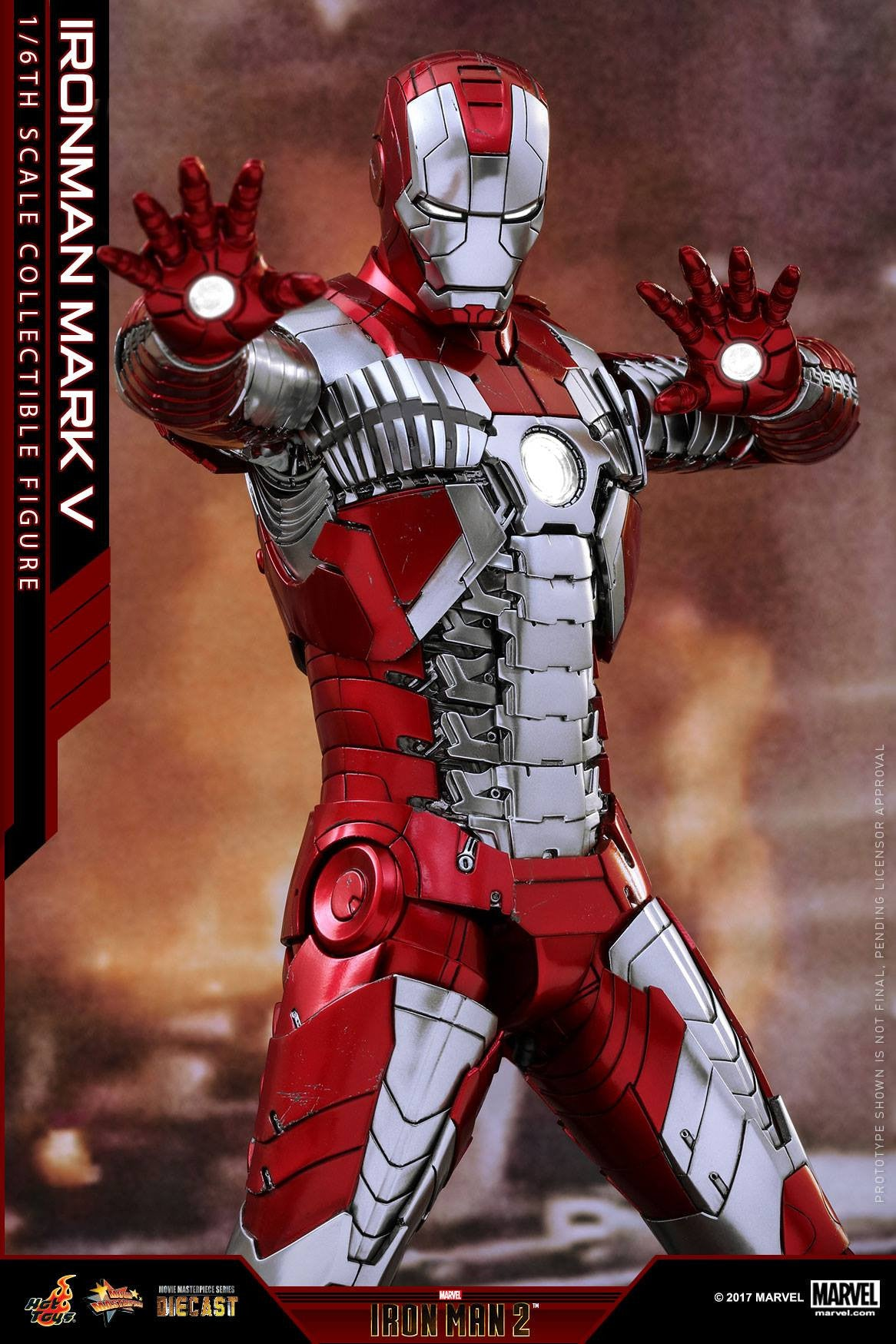 Hot Toys - MMS400D18 - Iron Man 2 - Mark V (DIECAST) - Marvelous Toys - 18