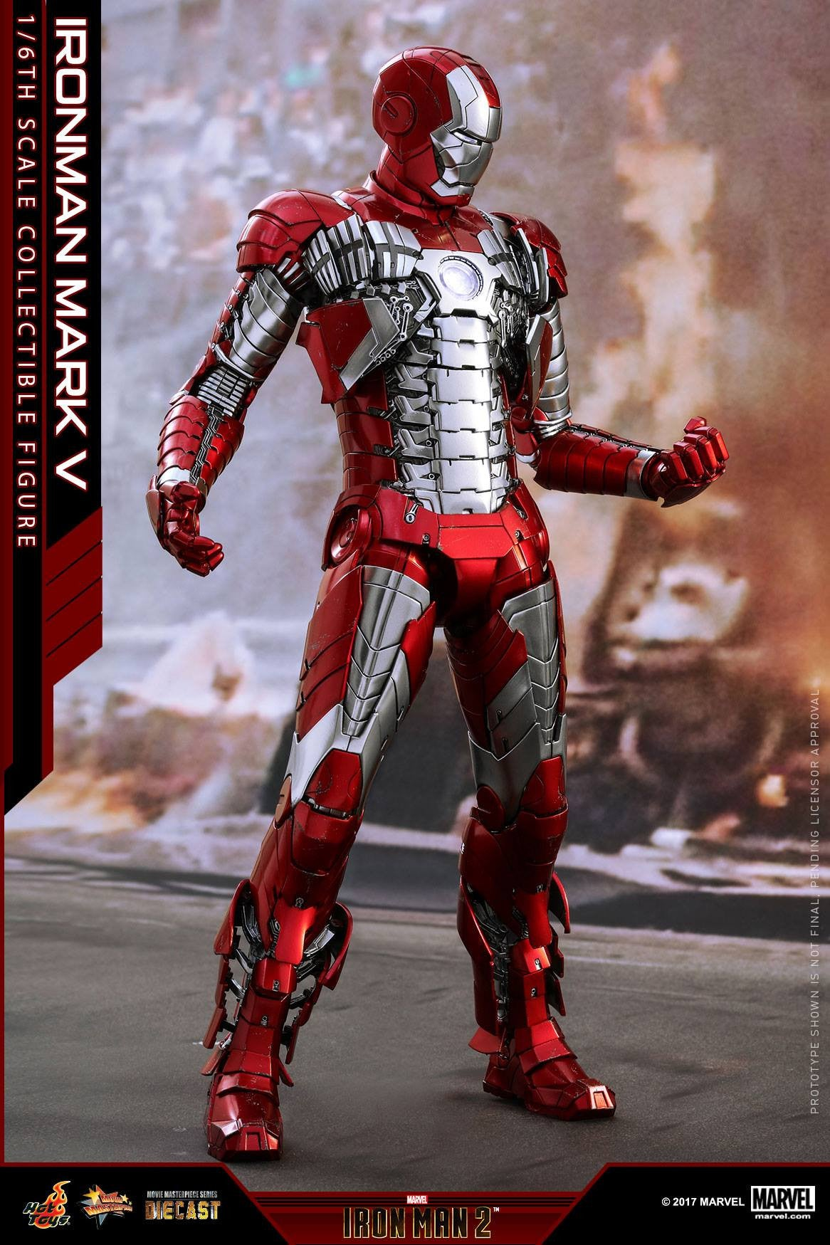 Hot Toys - MMS400D18 - Iron Man 2 - Mark V (DIECAST) - Marvelous Toys - 19