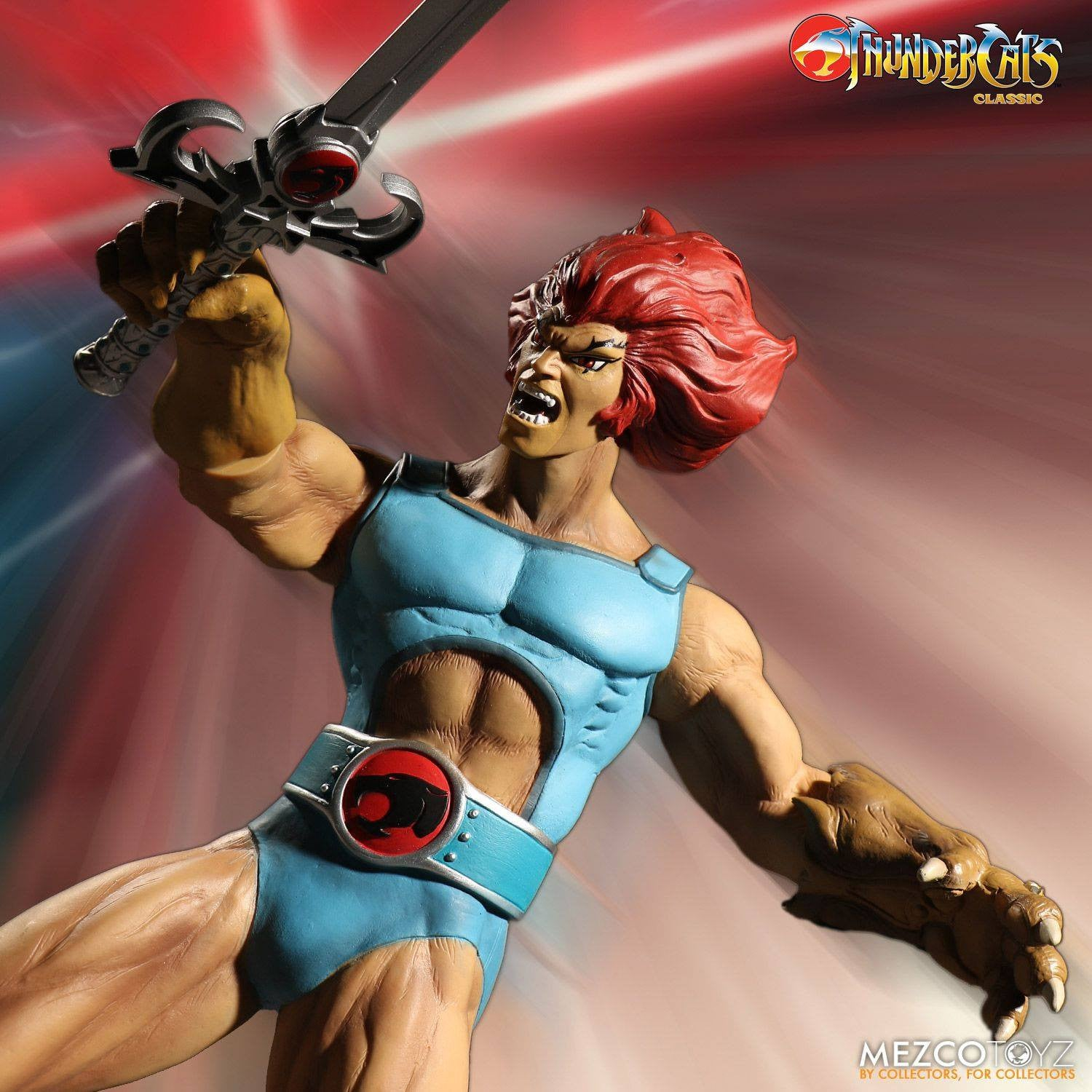 Mezco - Mega Scale - Thundercats - Lion-O Deluxe Edition - Marvelous Toys - 5