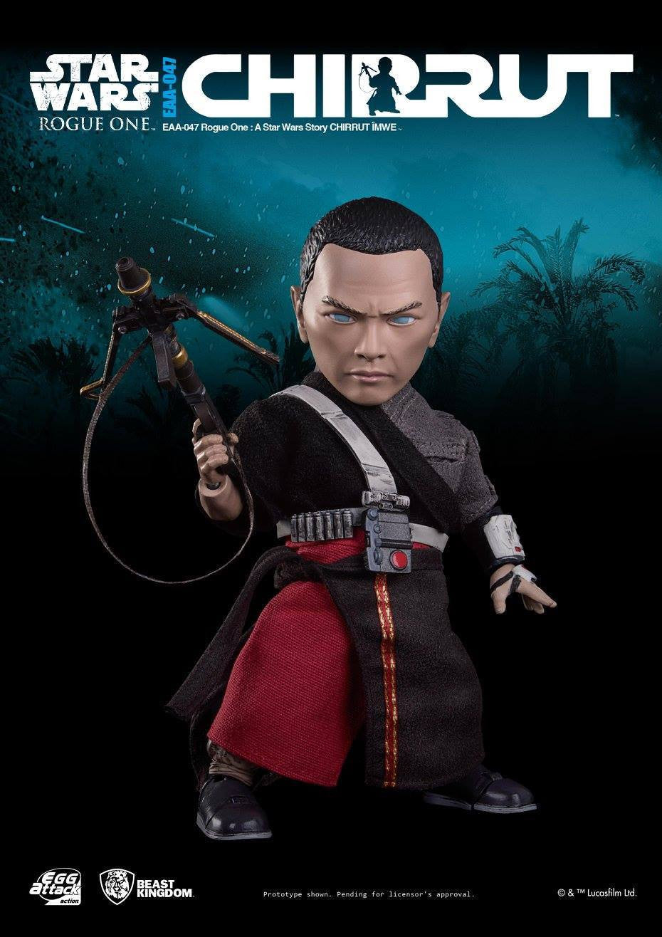Egg Attack Action - EAA-047 - Rogue One: A Star Wars Story - Chirrut Imwe - Marvelous Toys - 2